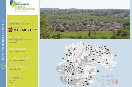 Commune de MALEMORT (19)