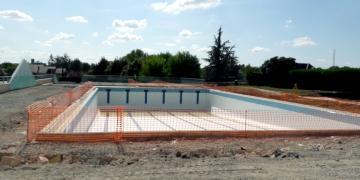 ZONE 3 - Piquage du dallage et sécurisation du bassin vide (10 septembre 2018)