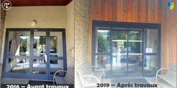 Avant et après travaux : Bardage bois