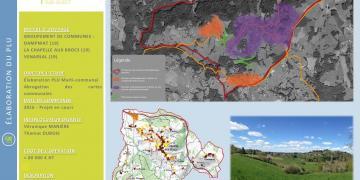 PLU multi-communal : DAMPNIAT-LA CHAPPELLE AUX BROCS-VENARSAL (19)