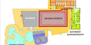 ZONE 3 - Bassin de natation / Bassin nordique