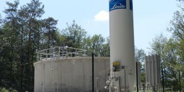Cuve de stockage de CO2 et nouvelle bâche d'eau traitée